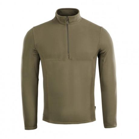 Quarter Zip Pullover // Dark Olive (XS)