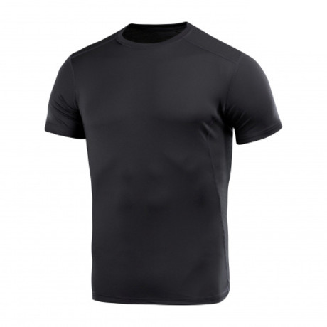 Double Poly Solid T-shirt  // Black (XS)