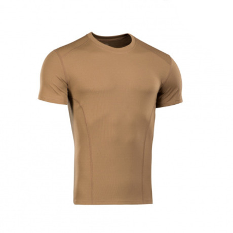 Poly Solid Polo // Light Brown (XS)