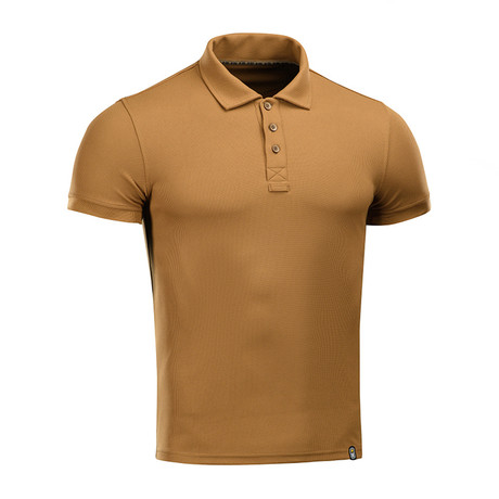 Solid Polo // Brown (XS)