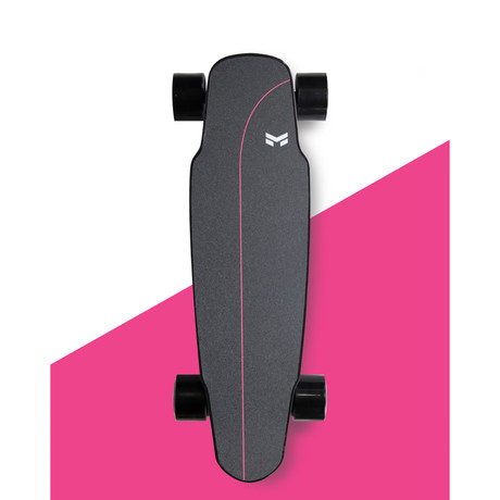 Miles Single // Carbon Fiber Electric Skateboard // Ray Grip (Black Wheels)