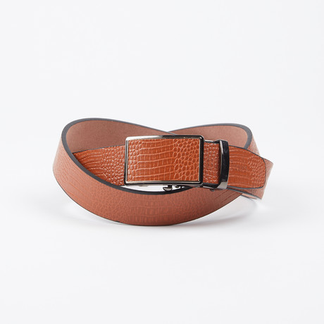 Jeffry Adjustable Belt // Light Brown