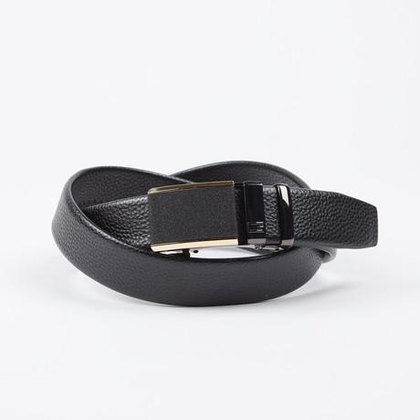Alphonso Adjustable Belt // Black
