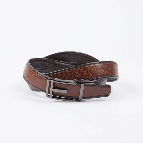 Andrea Adjustable Belt // Brown