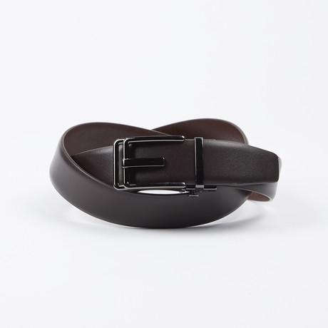 Harland Adjustable Belt // Brown