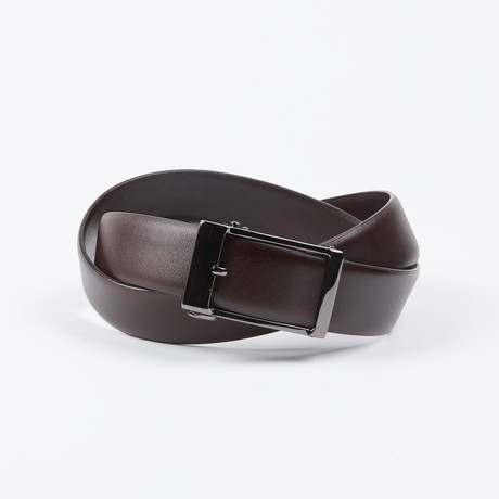Darrin Adjustable Belt // Brown