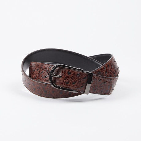 Cristopher Adjustable Belt // Brown