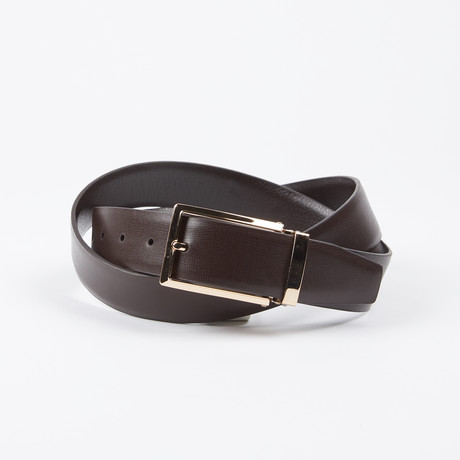 Adalberto Adjustable Belt // Brown