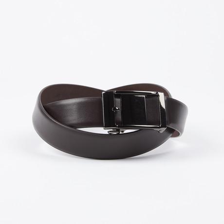 Ellsworth Adjustable Belt // Brown