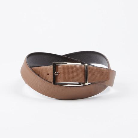 Blake Adjustable Belt // Brown