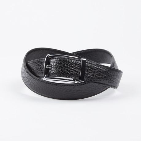 Francisco Adjustable Belt // Black