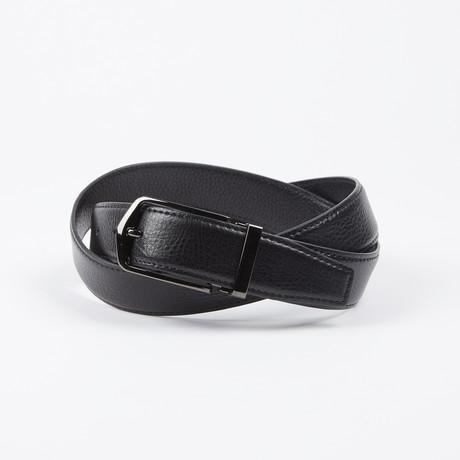 Clay Adjustable Belt // Black