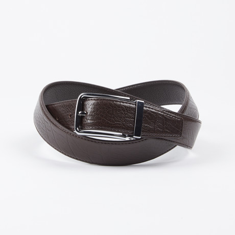 Tanner Adjustable Belt // Brown