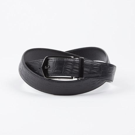 Daron Adjustable Belt // Black