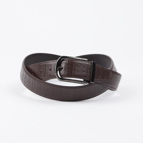 Adam Adjustable Belt // Brown