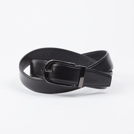 Teodoro Adjustable Belt // Black