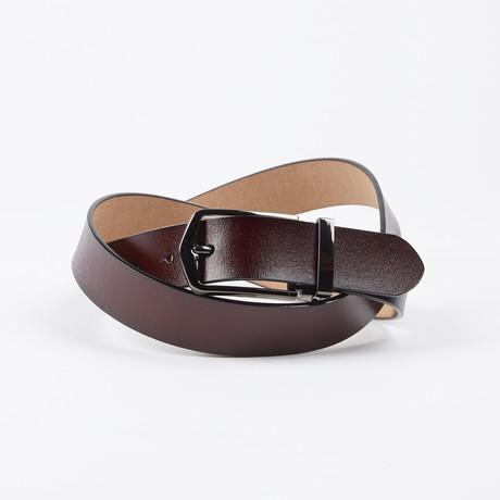 Collin Adjustable Belt // Brown