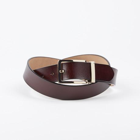 Von Adjustable Belt // Brown