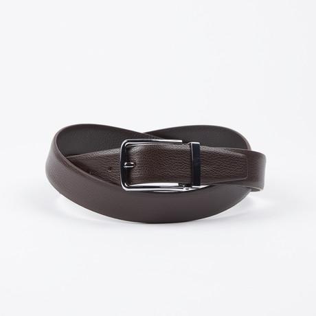 Todd Adjustable Belt // Brown