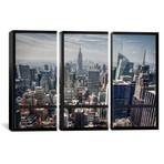 New York City Skyline Window View // Unknown Artist