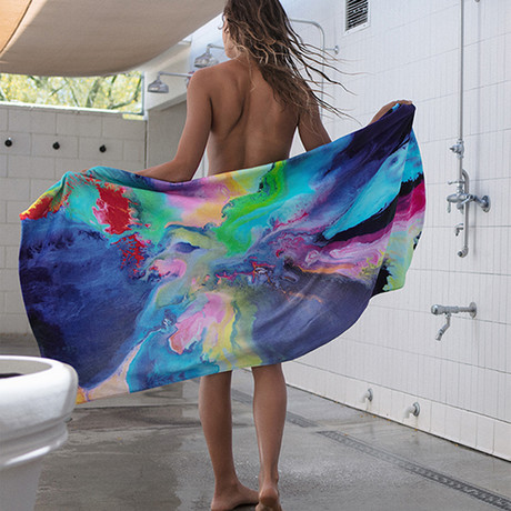 Blissed Out // Beach Towel