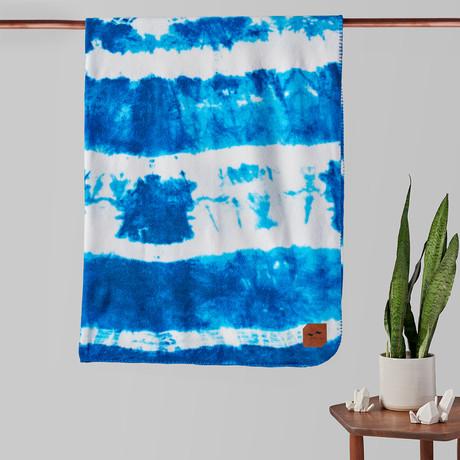 Indigo Sun Fleece Blanket