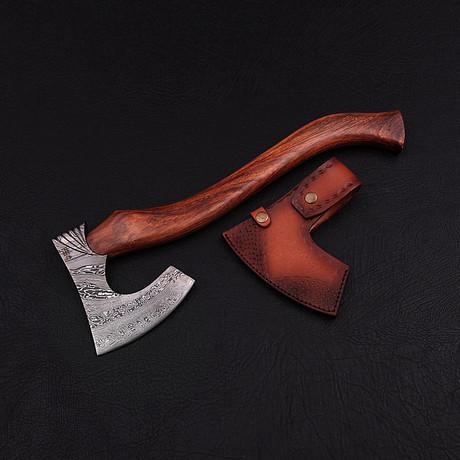 Damascus Functional Tomahawk // 1806