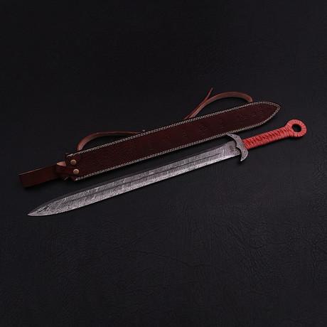 Damascus Celtic Sword // 9271