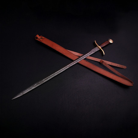 Damascus Celtic Sword // 9273