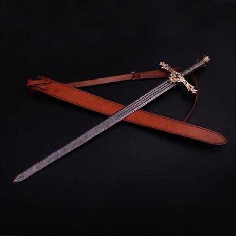 Damascus Collectible Sword // 9274