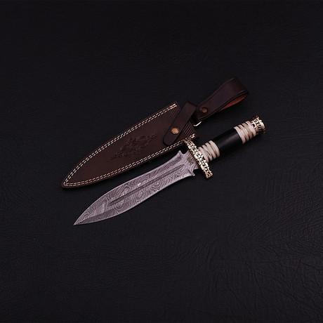 Damascus Dagger // BK0283