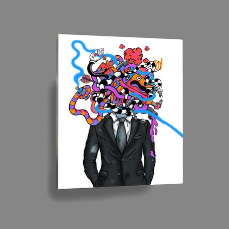 """Business Class (12"""" x 18"""" Paper Print)"""