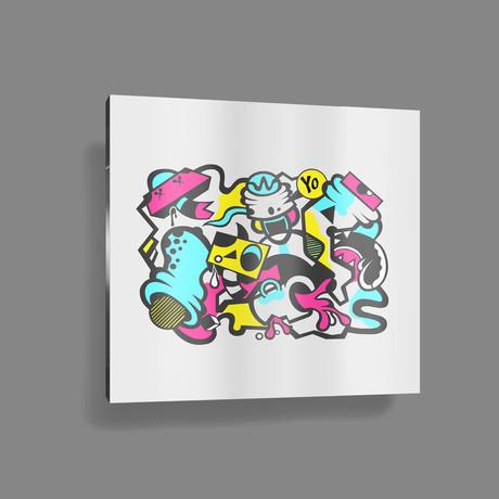 "Caffeine Fix // Color (20"" x 15 Paper Print)"