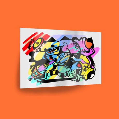 """West Coast // Color (18"""" x 12"""" Paper Print)"""
