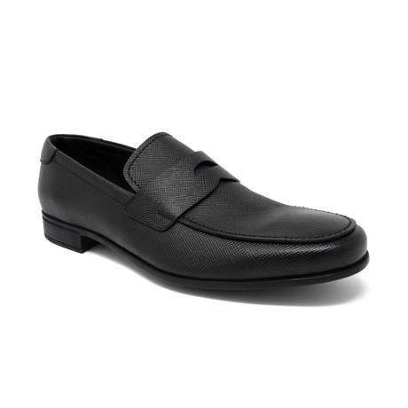 Flat Loafer // Black (UK: 6.5)