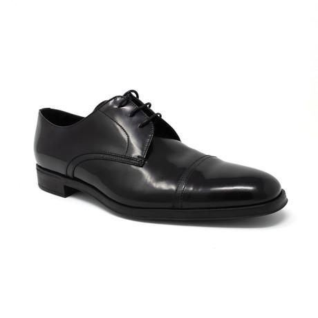 Lace-Up Derby Shoes V2 // Shiny Black (UK: 6.5)