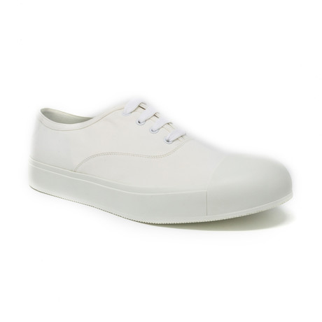Elevated Casual Sneaker // White (UK: 6.5)