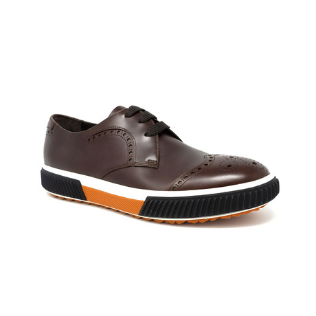 Derby Dress Shoe // Burnt (UK: 6.5)