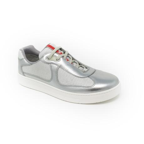 Sneaker // Silver (UK: 6.5)