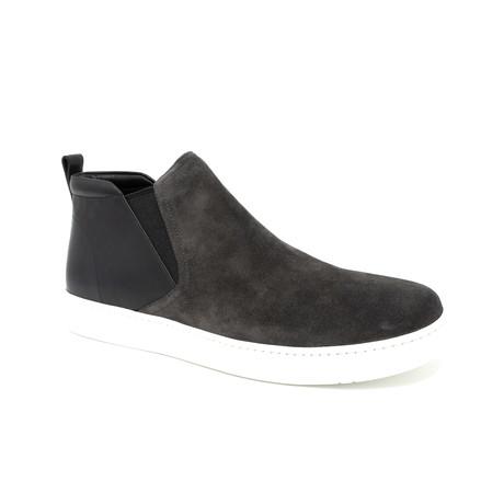 Hi-Top Slip On Sneaker // Gray (UK: 6.5)
