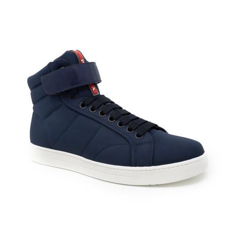 Hi-Top Urban Sneaker // Blue (UK: 6.5)