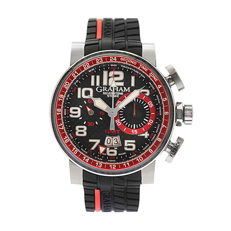 Graham Silverstone Stowe GMT Chronograph Automatic // 2BLAS.B10A // Store Display
