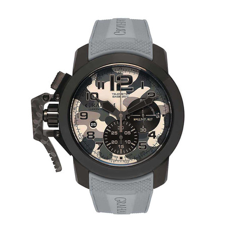 Graham Chronofighter Oversize Black Arrow Automatic // 2CCAU.S02A // Store Display