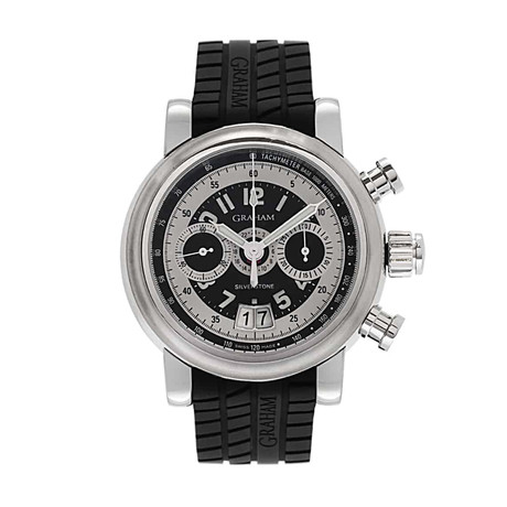 Graham Grand Silverstone GMT Chronograph Automatic // 2GSIAS.B01A // Store Display