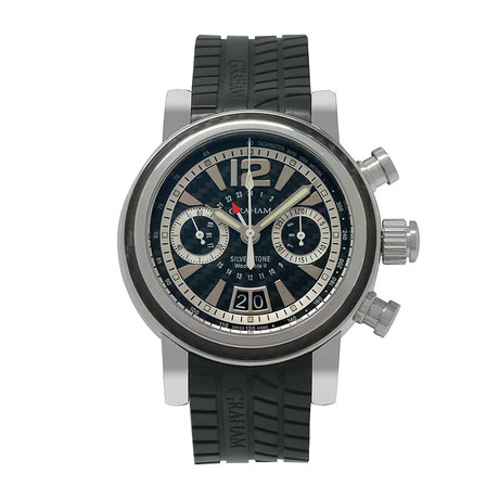 Graham Silverstone Woodcote II GMT Chronograph Automatic // 2GSIUS.B06A // Store Display