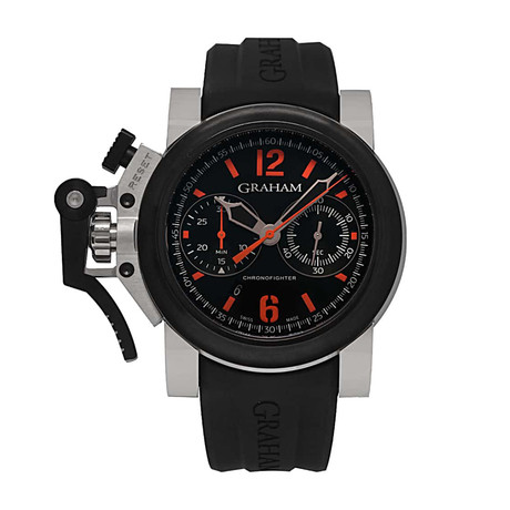 Graham Chronofighter Oversize Automatic // 2OVBV.B42A // Store Display