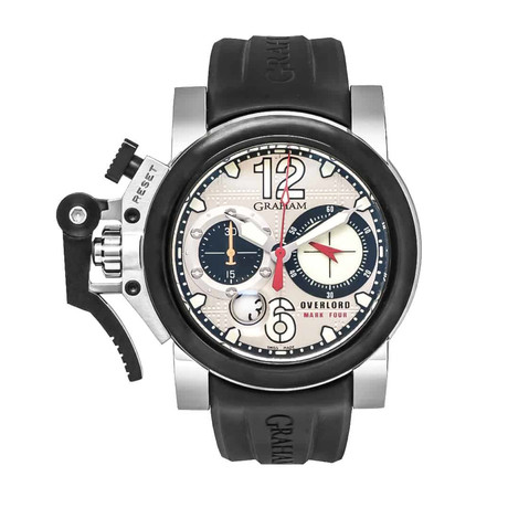 Graham Chronofighter Oversize Overlord Mark Four Automatic // 2OVBV.S05A // Store Display
