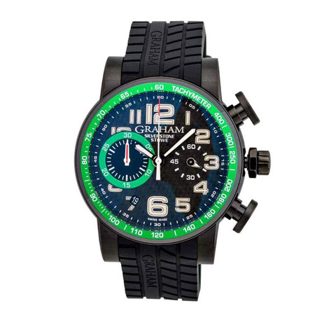 Graham Silverstone Stowe 44 Chronograph Automatic // 2SAAB.B02A // Store Display