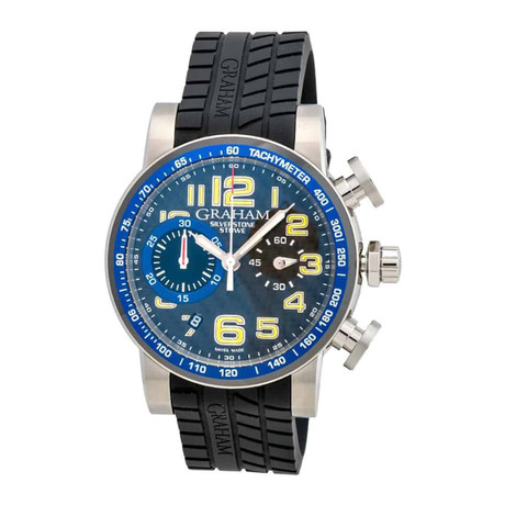 Graham Silverstone Stowe 44 Chronograph Automatic // 2SAAC.B04A // Store Display
