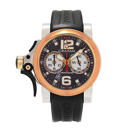 Graham Chronofighter R.A.C. Trigger Automatic // 2TRAG.C01A // Store Display